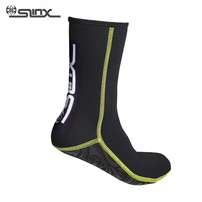 SLINX Warm Scuba Diving Socks 3mm Neoprene Swimming Boots Prevent Scratch Swimwear Wet Suit Snorkeling Spearfishing Socks