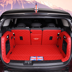 Автомобильный коврик для багажника BMW MINI ONE Cooper F54 F55 F56F60R60 кожаный коврик JCW запчасти земляк CLUBMAN хэтчбек аксессуары для интерьера