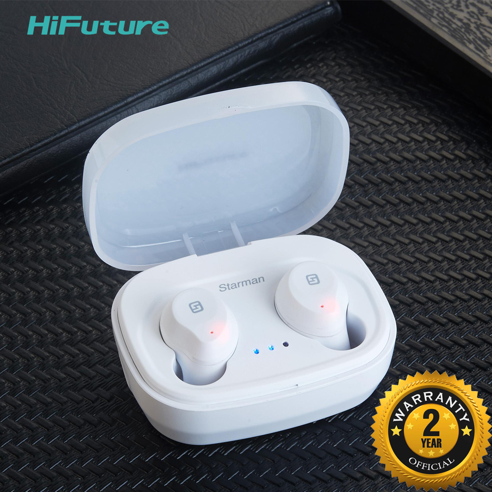 Hifuture Starman Bluetooth 5 0 TWS headphone True Wireless Bluetooth Earphone Touch Sensor Rechargeable 2years warranty in Bluetooth Earphones Headphones from Consumer Electronics