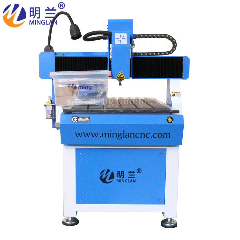 Newly Wood Carving Machine Diy Parts Hobby 3d Sculpture Smart Stone Mini 4 Axis Cnc 6090 Router