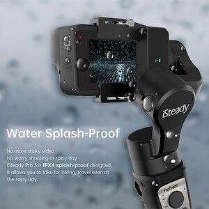 Image 2 - Hohem iSteady פרו 3 3 ציר כף יד Splash הוכחה Gimbal מייצב עבור DJI אוסמו פעולה GoPro גיבור 7 6/5/4/3 Sony RX0 עבור SJCAM
