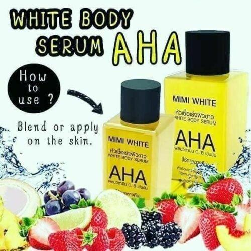 MIMI WHITE Whitening Skin Body Serum 30 ML Lightening Bleaching Dark Spot Serum  Free Ship 2