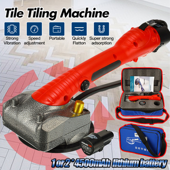Portable Tile Vibrator For 80x80cm Tiles Floor Plaster Machine Tile Laying With Battery Automatic Floor Vibrator Leveling Tool