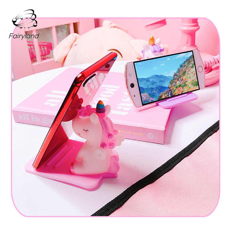 WCJ Cute Creative Gray Pony Mobile Phone Stand Desktop Stand Mobile Phone Universal Bracket