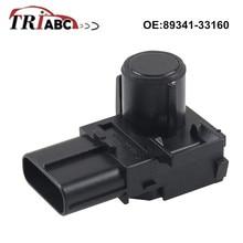 89341-33160 PDC Parking Sensor For Toyota Land Cruiser 200 LEXUS LX J2 6-pin connector Ultrasonic Sensor Parktronic new pz362 60070 a0 ultrasonic parking pdc sensor for toyota pz362 60070