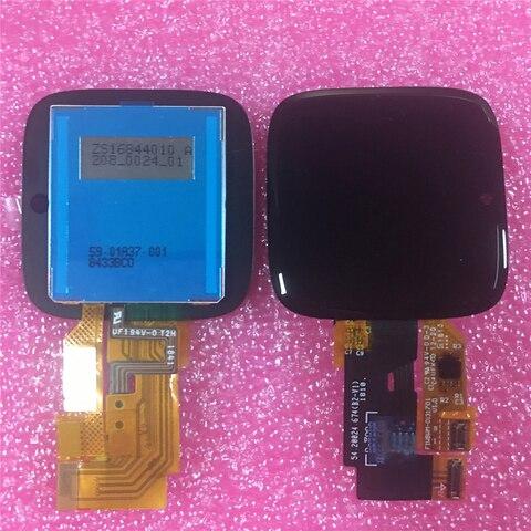 Digitador da Tela de Toque Assembléia para Fitbit Display Versa Lite Peças Reparo Lcd –