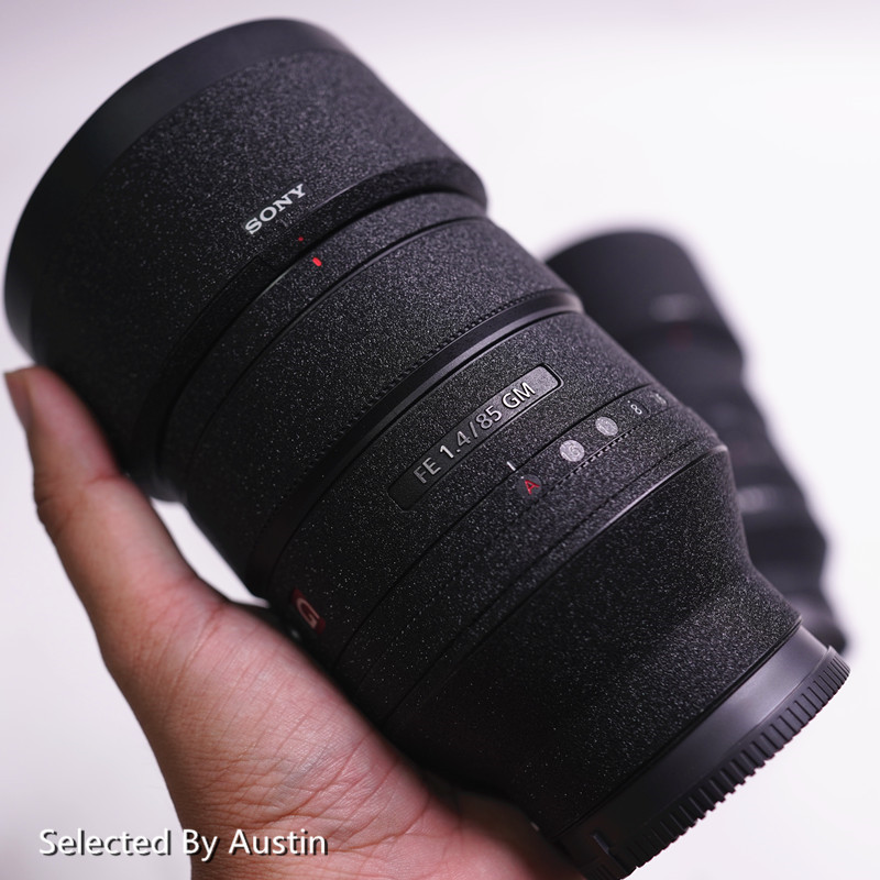 Premium Lens Skin Protector Decal Shiny Black For Sony Lens 16-35 F4 24-70 2.8GM 70-200 2.8GM F4 70-300  Wrap Cover Wear Case