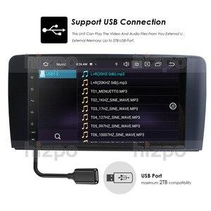 """Image 5 - אנדרואיד 10.0 לא DVD 4G + 64G רכב GPS ניווט עבור מרצדס בנץ ML GL W164 ML350 ML500 GL320 X164 GL350 GL450 9 """"מגע תצוגה"""