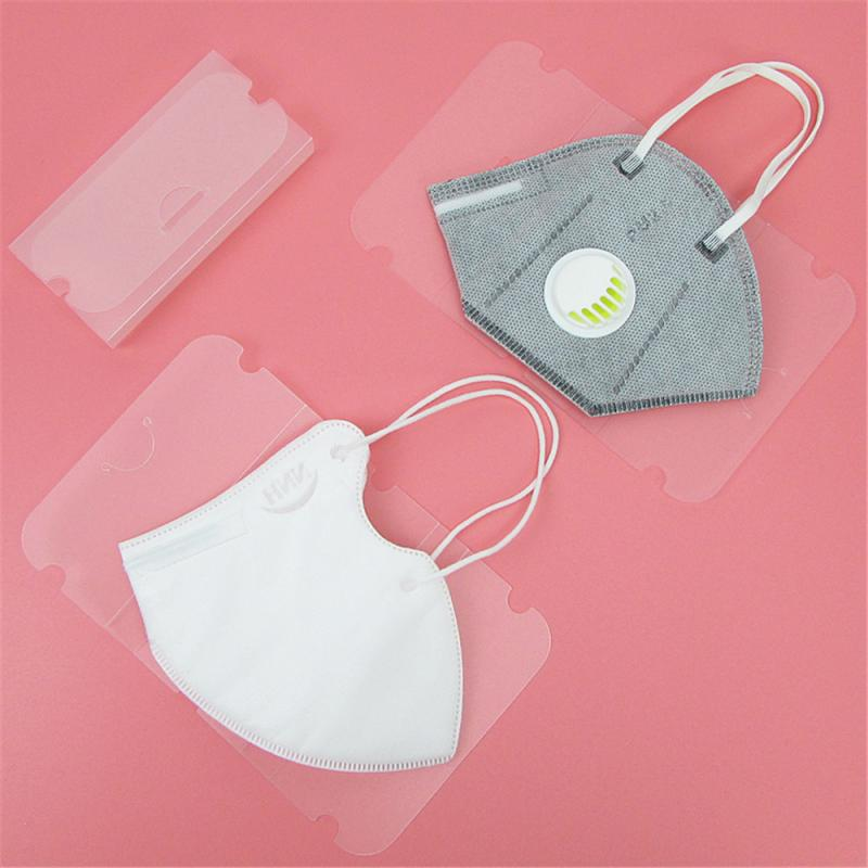 20PCS Disposable Mask Storage Box Mask Holder Portable Dustproof Moistureproof Organizer Rectangular Storage Case Dropshipping(China)