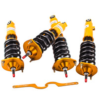 24 Way Adj. Damper Coilover Suspension Absorber For MAZDA MIATA MX5 for 90-05 NA6C NA8C NB8C Suspension Spring