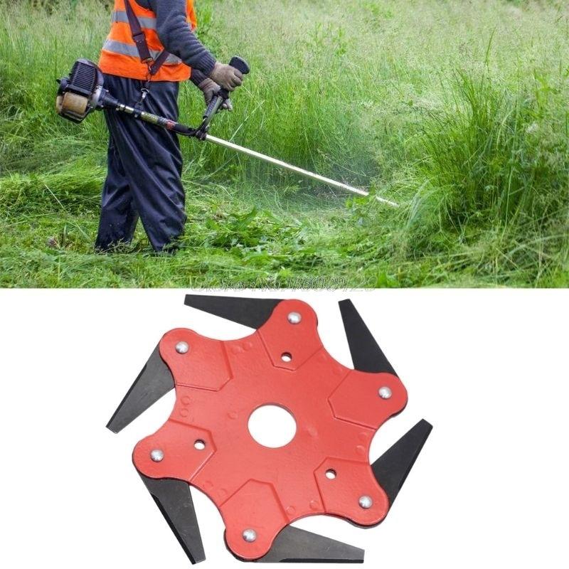 6T Blade Razor 65Mn Manganese Steel Brush Cutter Lawn Mower Grass Trimmer Head