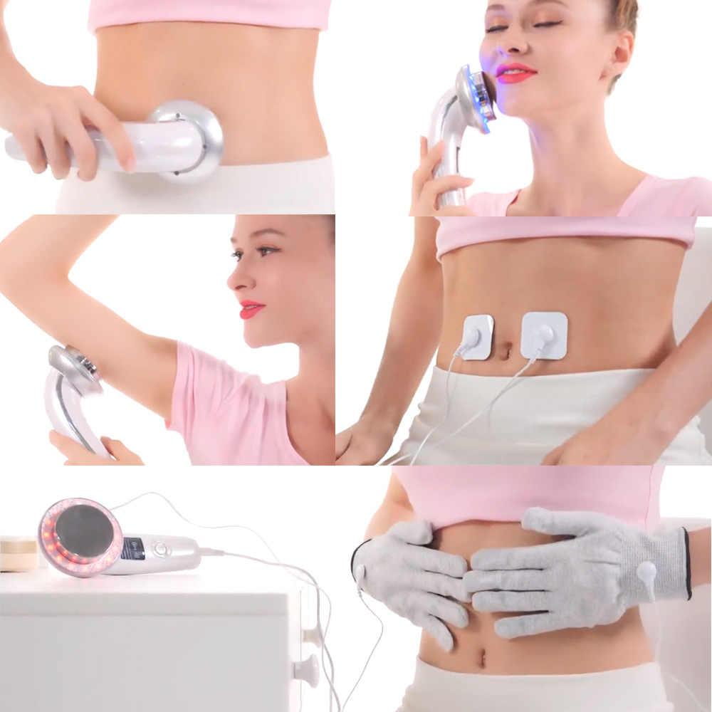 EMS ボディ痩身マッサージ超音波キャビテーション + 痩身ジェル重量失うクリーム抗セルライト脂肪バーナーガルバニック