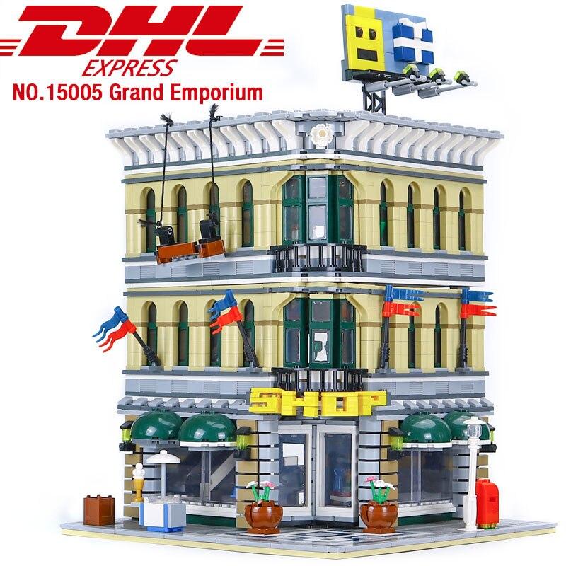 New GRAND CAROUSEL Set Creator legoings 10196 Building Blocks Lot 3263pcs Bricks