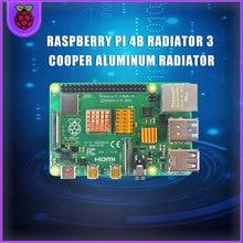 Raspberry Pi 4B радиатор 3 Cooper алюминий радиатор радиатор охлаждение комплект RPI142 для S ROBOT