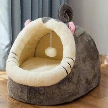 Съемный домик для кошки, питомник, гнездо для питомца, подстилка для собаки, диванная подушка для дома, товары для домашних животных для маленькой собаки котята, кровать