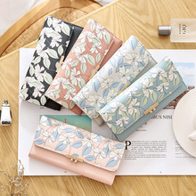 Woman Wallet Long Purse Leather Bag Zipper Buckle Big Capacity Daily Shopping Phone Bag Girls Birthday Family Gift