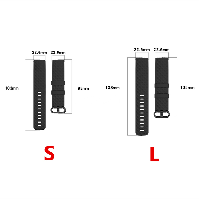 High Quality Watch Strap For Fitbit Charge 4 Bracelet Sport Watch Bands Silicone Wristband For Fitbit Charge 3/3 SE Accessories 6