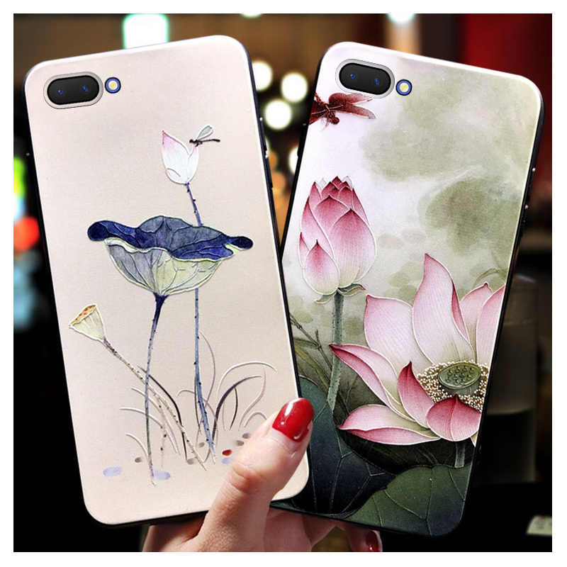 Luxury 3D Emboss flower Case for Xiaomi A2 Lite Redmi 5 Plus 3s 4A 4X 5A 6A 6 pro Note 3 4X 5 5A 7 pro Floral Silicone Cover