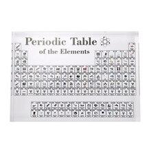 Акриловые периодической таблицы Дисплей с элементами стол Дисплей, с элементами студенческие подарки для учителей химический для декорирования вестибюлей