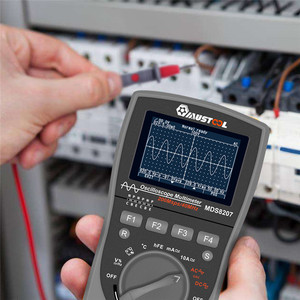Image 5 - MUSTOOL Upgraded MDS8207 Intelligent 2 in 1Digital 40MHz 200Msps/S Oscilloscope 6000Counts True RMS Multimeter With Analog Grap