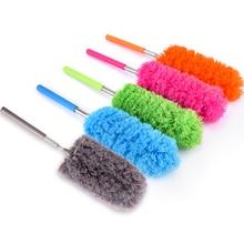 Щетка из микрофибра, растягивающаяся щетка с перьями, щетка для очистки от пыли, щетка для дома, кондиционер, чистка мебели для автомобиля