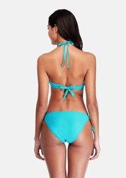 Charmo, Женский комплект бикини, Холтер, купальник, сплошной цвет, купальник, бандаж, купальный костюм, треугольник, пляжная одежда, сексуальное... 5