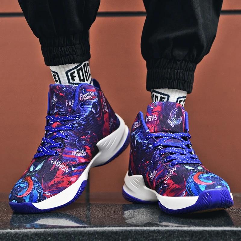 Plus size 46 men jordan Basketball shoes Breathable sneakers men shoes zapatillas basketball hombre Ankle boots sport shoes