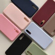 Cukierki kolor matowy futerał na telefon dla Xiaomi Poco M3 C3 X3 NFC Redmi uwaga 10S 10 9T K40 Pro Plus 9 moc silikonowa miękka TPU okładka