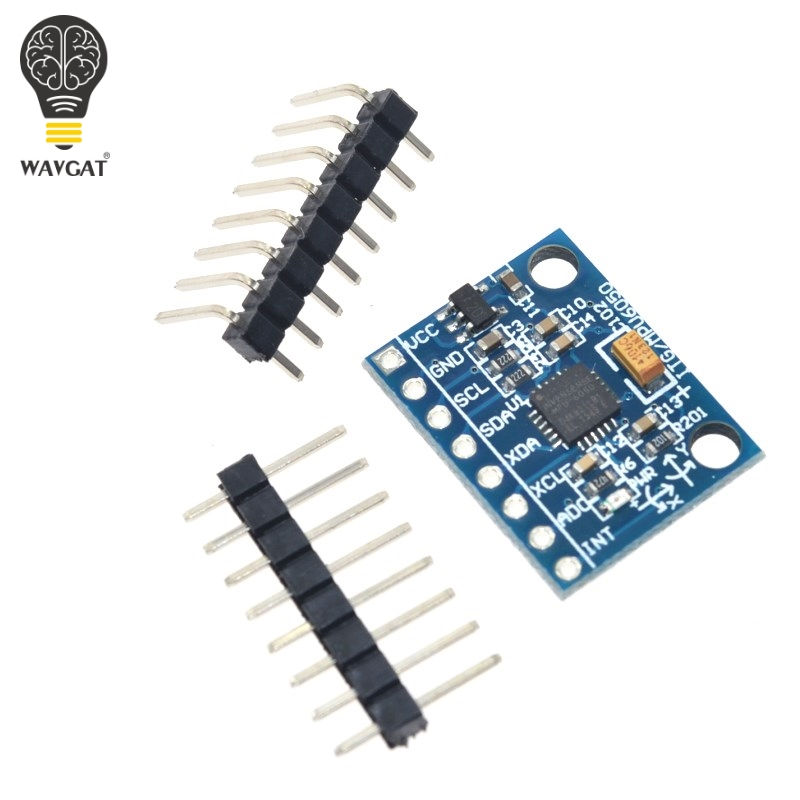 WAVGAT GY-521 MPU-6050 MPU6050 Module 3 Axis Analog Gyro Sensors+ 3 Axis Accelerometer Module.We Are The Manufacturer