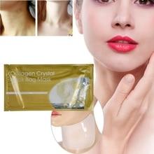 1 Pc Collagen Neck Mask Anti Winkle Lighten Fine Lines Firming Skin Brighten Ski