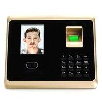 Abkt máquina do comparecimento da impressão digital  jogo do sistema de controle de acesso da cara da impressão digital com 2.8 Polegada tela lcd|Atendimento elétrico| |  -