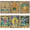Tarô toalha de mesa astrologia misterioso tarô tapeçaria quarto sofá capa 150*100cm