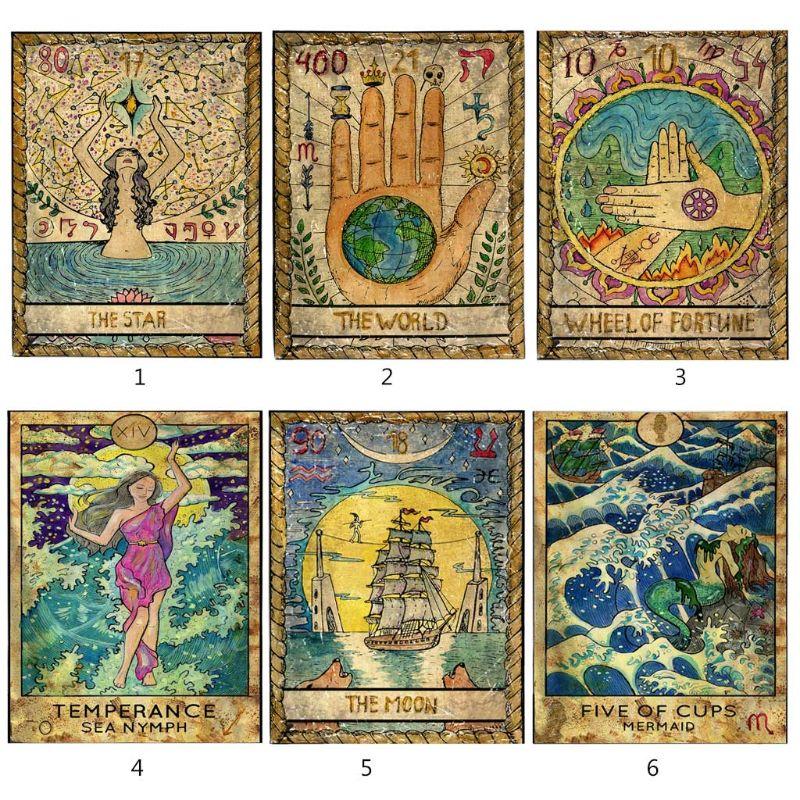 Tarot Tablecloth Astrology Mysterious Tarot Tapestry Room Sofa Cover 150*100cm