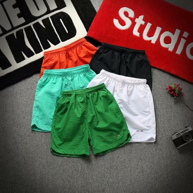 Shorts Men Summer Thin Section Shorts Korean-style Loose-Fit Large Trunks Trend Casual Sports Pants Beach Shorts