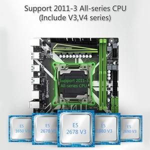Image 4 - HUANANZHI X99 8M 마더 보드 슬롯 LGA2011 3 USB3.0 NVME M.2 SSD 지원 DDR4 REG ECC 메모리 및 Xeon E5 V3 V4 프로세서