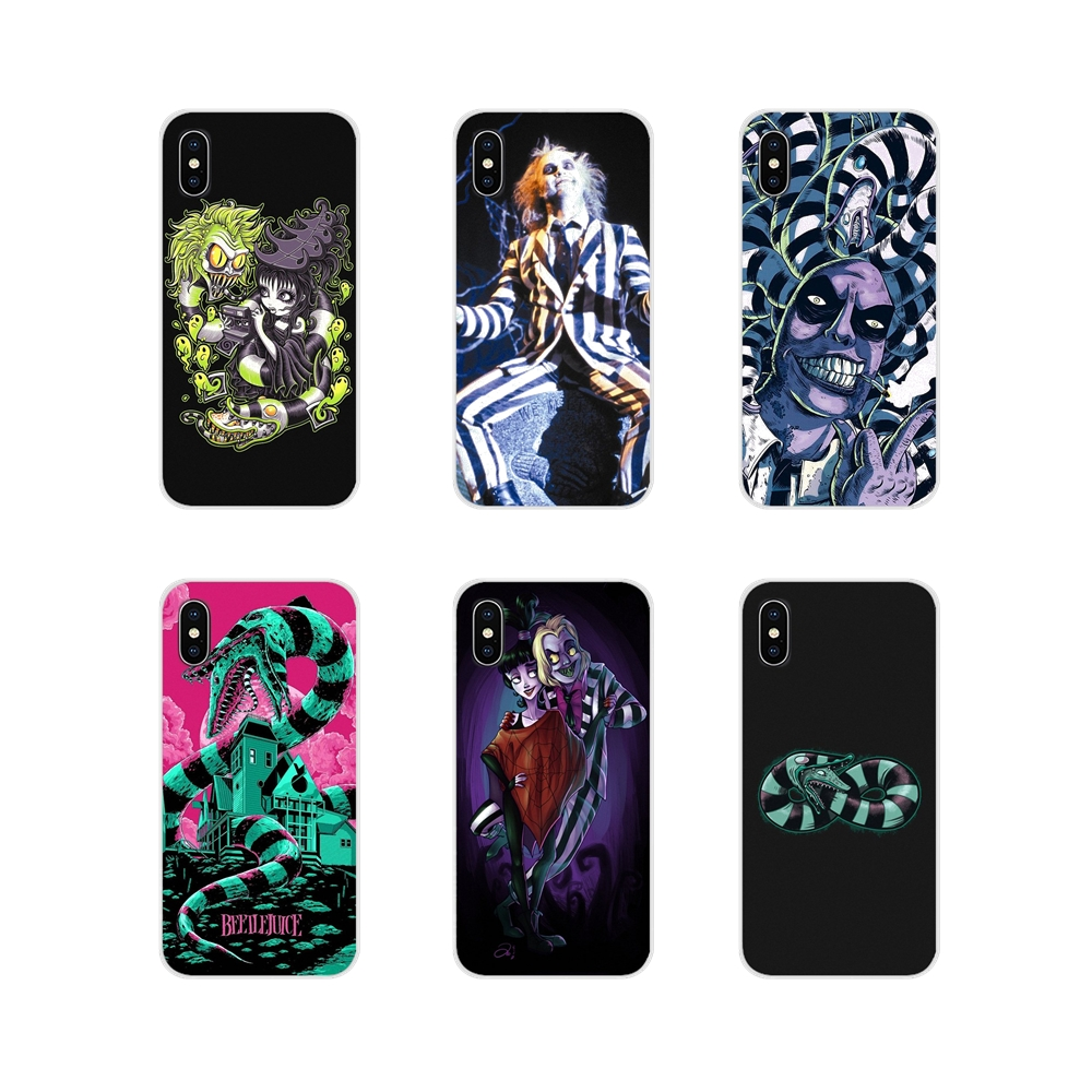 Accessories Phone Cases Covers For Motorola Moto X4 E4 E5 G5 G5S G6 Z Z2 Z3 G G2 G3 C Play Plus Beetlejuice