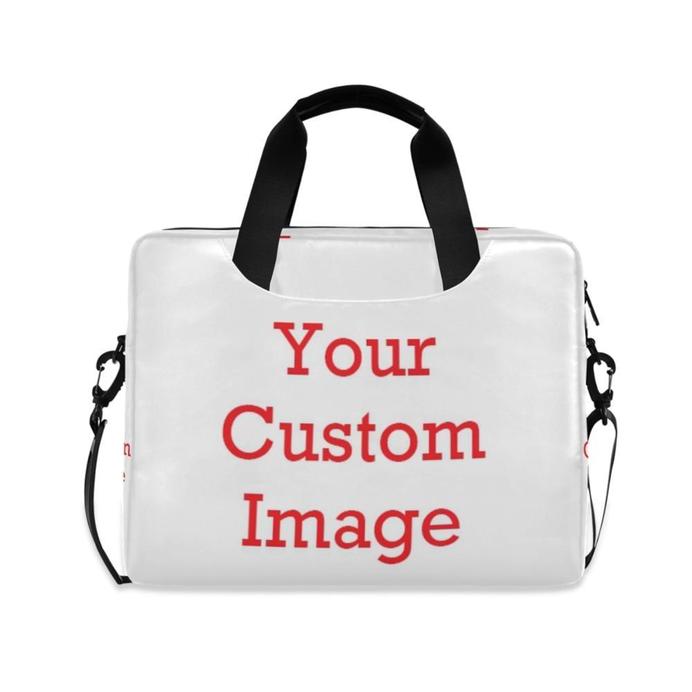 Personalized Custom Pattern Business Briefcase Men Women Bag Computer Laptop Handbag Shoulder Messenger Bags Men's Travel Bags