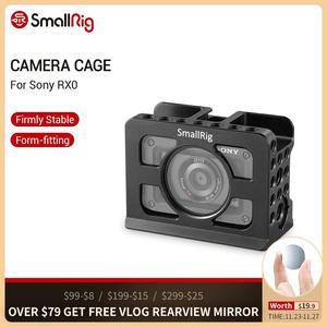 Image 1 - 소니 RX0 카메라 케이지 용 SmallRig 내장 Arca 스위스 장착 삼각대/모니터 2106