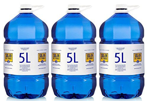 Solán De Cabras Mineralwasser 5 L - [Pack 3]