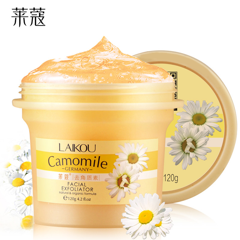 Deep Cleansing Facial Gel Scrub/go Cutin Face Exfoliating Cream Natural Orgonic Germany Camomile Extract Body Exfoliating