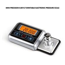 0.005g Mini Digital Turntable Stylus Force Scale Gauge Led Arm Load Meter Professional  Portable Digital Scale Escala de joyería