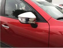 Rearview mirror cover Reverse shell Cover Reversing Mirror Side Wing Caps for Mazda CX-3 ABS