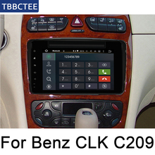 For Mercedes Benz CLK C209 W209 1998~2005 NTG Car Android Multimedia GPS Navigation DVD Player Radio Stereo USB WIFI HD Screen цена