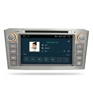 Image 4 - ذاكرة الوصول العشوائي أندرويد 10.0 مشغل أسطوانات للسيارة ستيريو الوسائط المتعددة سماعة لتويوتا أفينسيس/T25 2003 2008 راديو تلقائي لتحديد المواقع والملاحة الفيديو والصوت