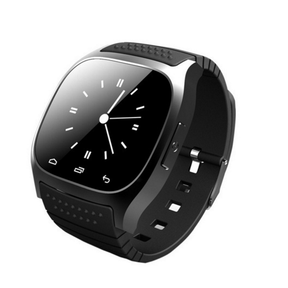 Sports smart watch M26 smart bracelet Bluetooth with dial phone anti-lost for IOS Android mobile smart watch men