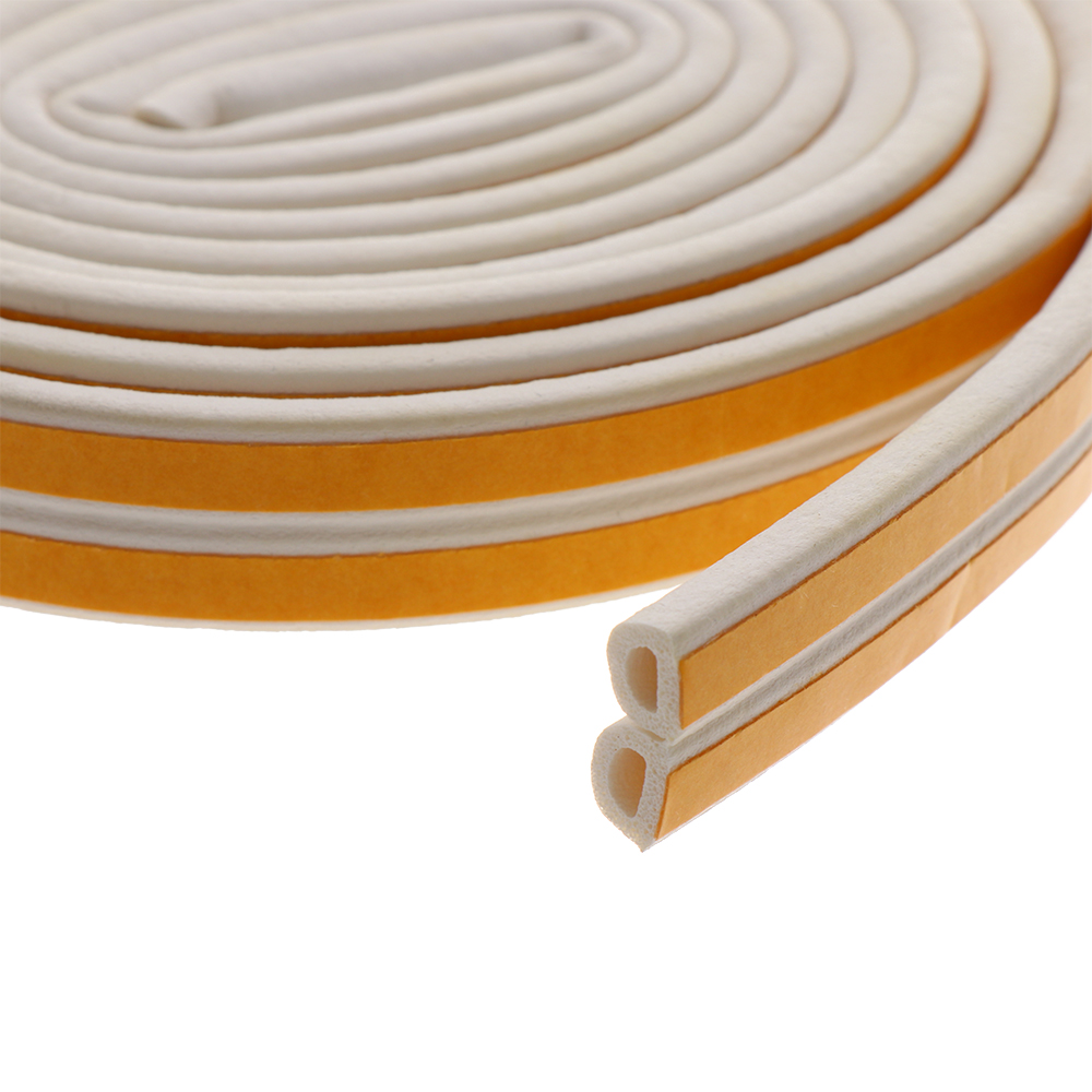 5//10M Window Door Self Adhesive Seal Strip Foam Draught Excluder Anti Collision