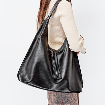 Genuine Leather Shoulder Bag Quality Hand Bags for Women 2020 New Arrival Tote Bags Great Capacity Women Bag сумка женская