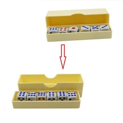 Dicas de previsão (dados normais) truques de magia close-up seis morrer flash mudança magia mentalismo ilusão adereços brinquedos para crianças