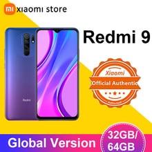 Xiaomi Redmi 9, 3 Гб оперативной памяти, 32 Гб встроенной памяти/4GB 64GB смартфон глобальная версия Helio G80 Octa Core 13MP Quad камера 6,53
