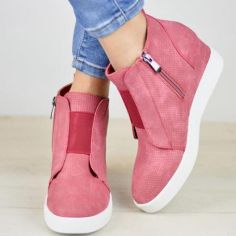 Women Slip On Hollow Out Flat Ladies Breathable Loafers Casual Platform Vulcanized Sewing Female Fashion Comfort Shoes